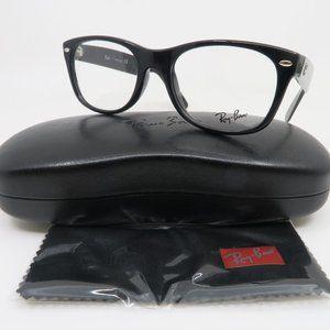 Ray-Ban RB5184 2000 Shiny Black Unisex Authentic